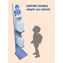 Support double de gel...